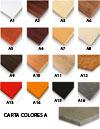 Colores/Acabados asiento sillas de interior