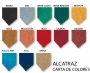 COLORES TAPIZADO ALCATRAZ