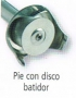 PIE DE 190 MM CON DISCO BATIDOR PARA DKMIX